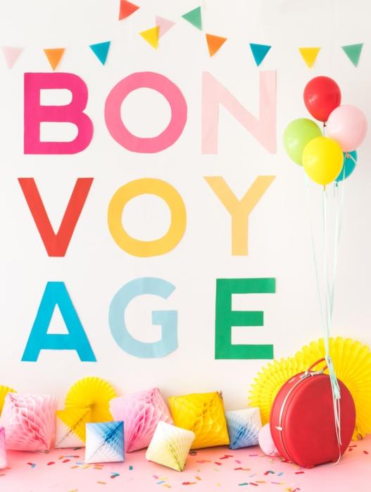 Bon Voyage by Naomi Julia Satake for Oh Happy Day!
