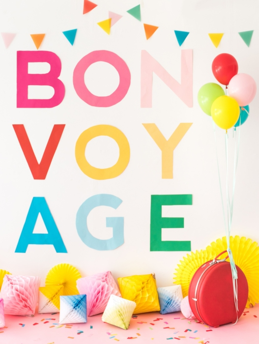 Bon Voyage by Naomi Julia Satake for Oh Happy Day!