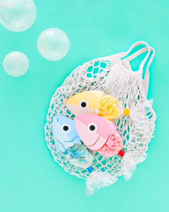 Fish Candy Favor Bags by Naomi Julia Satake for Oh Happy Day!